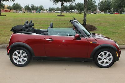 Mini : Cooper CONVERTIBLE CONVERTIBLE,CLEAN TITLE,RUST FREE,AUTOMATIC,HEATED SEATS,AUX-IN