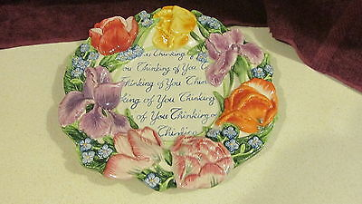 Fitz & Floyd Thinking of You Plate