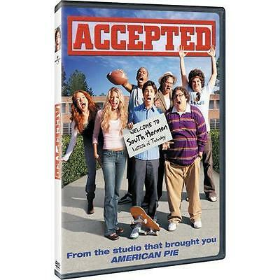 Accepted (DVD, 2006, Anamorphic Widescreen) Blake Lively, Justin Long