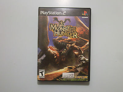 Monster Hunter  (Sony PlayStation 2, 2004) Complete