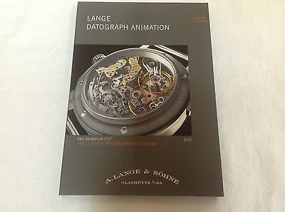 DVD-PAL - A. LANGE & SÖHNE - Lange Datograph Animation 2002 - For Collectors
