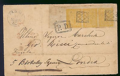 drbobstamps Parma Very Scarce Postal History Cover