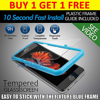 """Genuine Tempered Glass Film Screen Protector for Apple iPhone 6 4.7"""" LCD Guard"""