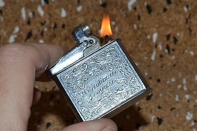 % $ VERY RARE 1970s ! VTG Russian Soviet Cigarette LIGHTER Petrol RARE USSR old