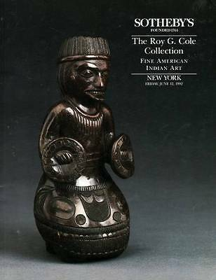 SOTHEBY'S THE ROY G. COLE COLLECTION OF FINE AMERICAN INDIAN ART