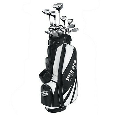 CALLAWAY STRATA ULTIMATE 18 PIECE MEN'S COMPLETE GOLF SET W/BAG RIGHT HAND- 2015