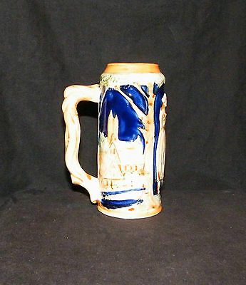 Small Mini Vintage Beer Stein made for Pioneer Muse Company NY Mug Cup