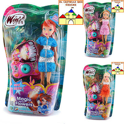 WINX MAGIC FLOWERS Personaggi Assortiti BAMBOLE 30cm da Giochi Preziosi