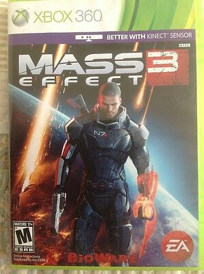 Mass Effect 3  Xbox 360 Game