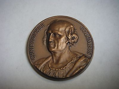 CHRISTOPHER COLUMBUS 500 DISCOVERY KNIGHTS OF COLUMBUS BRONZE MEDAL