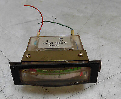 Jemco Percent Meter / Gage / Display, # EN-65-L-B, Used, WARRANTY