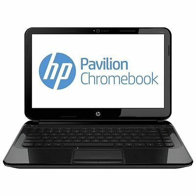 "HP Pavilion Chromebook 14"" (16 GB, Intel Celeron, 1.1 GHz, 4 GB) Notebook - NEW"