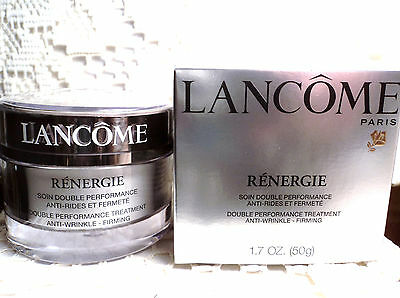 LANCOME RENERGIE DOUBLE PERFORMANCE CREAM WITH VITAMIN E 1.7 - NEW/BOXED