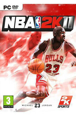 NBA 2K11 National Basketball League for PC XP/VISTA/7 SEALED NEW