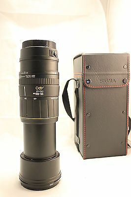 Sigma AF APO 135-400mm f/4.5-5.6 Canon Auto Focus works, ERR 01 issue FREE SHIP