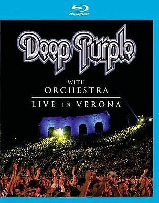Deep Purple with Orchestra: Live in Verona (Blu-ray Disc, 2014)Brand New