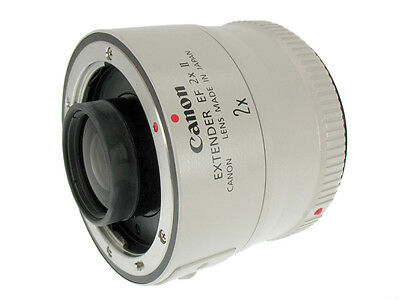 Canon Extender EF 2x II EOS Teleconverter for 70-200mm f/4L f/2.8L *Excellent*
