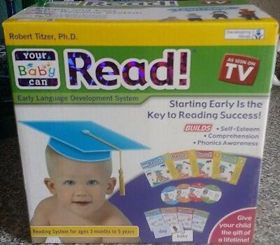 Your Baby Can Read - Volumes 1, 2, 3, 4 - Complete Box Set - BRAND NEW