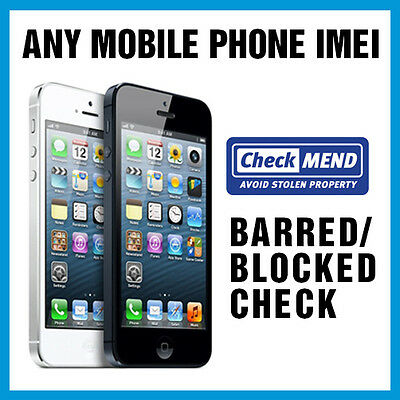 CHECKMEND BARRED BLOCKED AND BLACKLISTED CHECK 1-3 HOURS DURING OFFICE HOURS