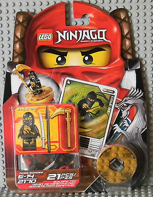 Lego Ninjago 2170 Cole DX Spinner Set, 2011 New In Box, Sealed VERY RARE