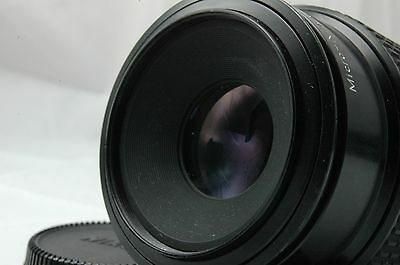 EXC   ] Nikon Ai-s Micro-NIKKOR 105mm F/4 Lens From Japan