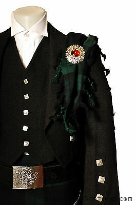 Gents Mens Classic Mixed Wool Fly Plaid, Scottish Tartans, Great Quality!
