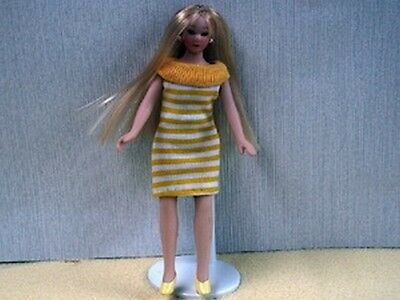 Female Doll all Dressed Up, Dolls House 1.12th Scale, Miniature, Doll