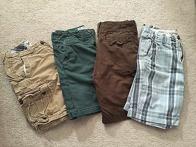 American Eagle Lot Of 4 Pairs Of Shorts All Size 30