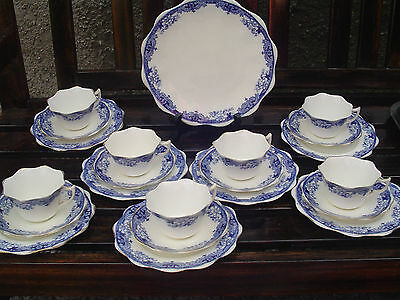 Foley China - Robinson & Sons 1881-1903 Trio x 7 + Cake/Bread Plate , & Extra' s