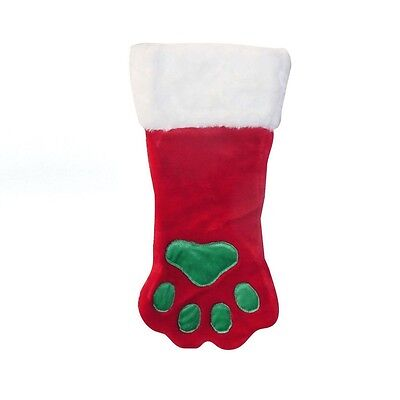 Paw Holiday Stocking for Dogs & Cats - S - L - Let your pooch join the holiday