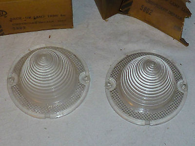 1960 CHEVY IMPALA BACK UP LENS - SET OF TWO - GB - NOS