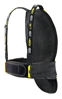 Knox Youth Aegis Back Protector 2014 4 Plate Black