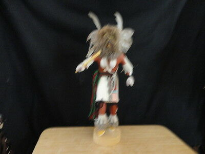 Native American Made Hand Carved 16 Inch Owl Kachina