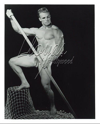 VIC SEIPKE BEEFCAKE HUNK FULL FRONTAL NUDE  OETTINGER PHOTOGRAPH 1953