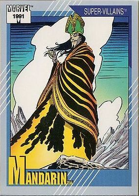 MANDARIN 1991 MARVEL COMICS IMPEL CARD # 60