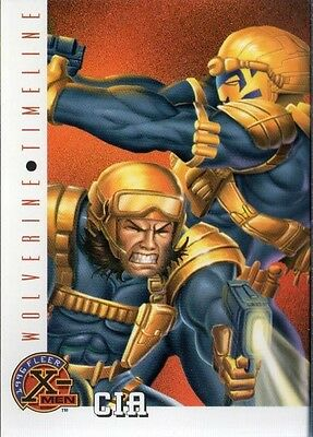 CIA 1996 FLEER X-MEN CARD # 81