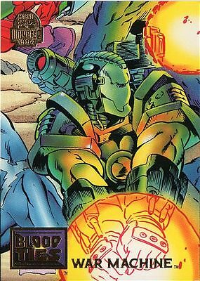 WAR MACHINE 1994 MARVEL UNIVERSE # 36