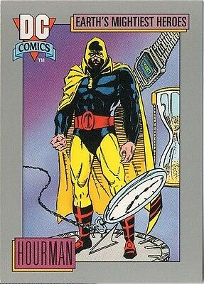 HOURMAN 1991 DC COMICS IMPEL CARD # 57