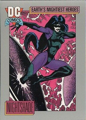 NIGHTSHADE 1991 DC COMICS IMPEL CARD # 64