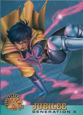 JUBILEE 1996 FLEER X-MEN CARD # 32