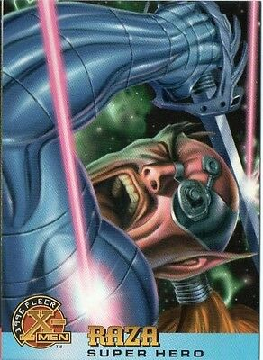 RAZA 1996 FLEER X-MEN CARD # 57