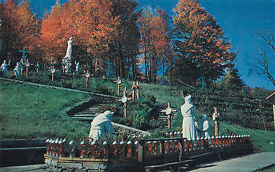 The Apparition Shrine of Our Lady of La Salette ENFIELD New Hampshire Postcard