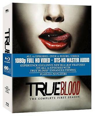 True Blood - The Complete First Season (Blu-ray Disc, 2009, 5-Disc Set)