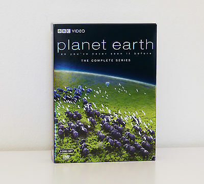 Planet Earth: The Complete BBC Series (5 Discs) DVD / Region 1 / As New