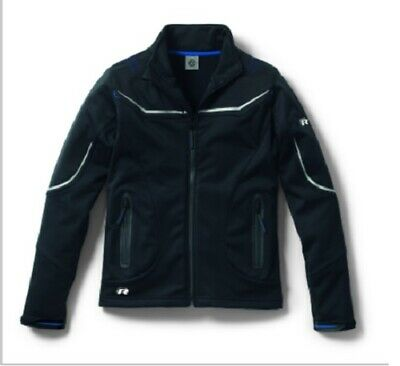 Womens Black Softshell Xl Coat Jacket - Genuine Volkswagen Vw 'R' Collection