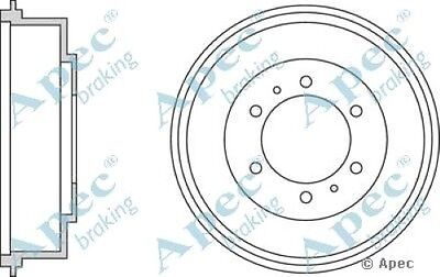 1x OE Quality Replacement Rear Axle Apec Brake Drum 6 Stud 270mm