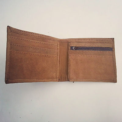 Real goat Lather Wallet