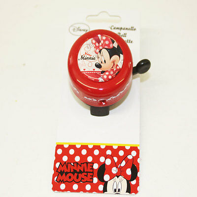 Genuine Disney MINNIE MOUSE Bicycle Bell Universal fits any  Bike Cycle Cycling