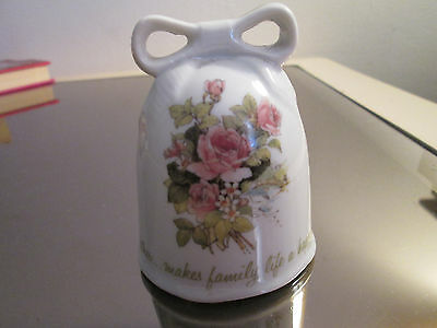 Designers Collection A Mothers Remembrance Genuine Porcelain Bell