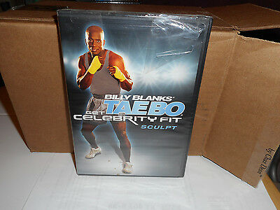 Billy Banks TAEBO 2 pk - Get Celebrity Fit- Cardio and Sculpt -  **Brand New**